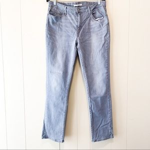 Levi's Gray Mid-Rise Skinny Jeans Size 33